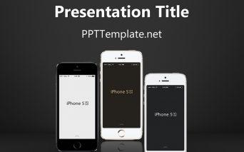 iPhoneアプリの企画や勉強会に使えそうなパワポテンプレート