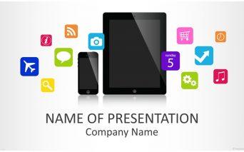 Mobile Applications アプリの企画やイベントで大活躍しそうなパワーポイントテンプレート