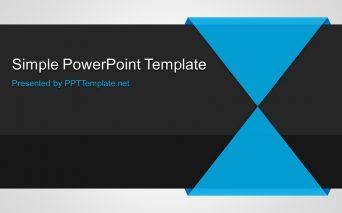 Free Simple PPT Template シンプルなビジネス用パワーポイントテンプレート