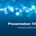 ボケがいけてるビジネス向けパワーポイントテンプレートFree Marketing PowerPoint Template
