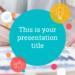 カラフルなフラットデザインのパワーポイントテンプレート Kent presentation template