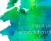 水彩画の筆のタッチがおしゃれなパワーポイントテンプレート Eglamour presentation template