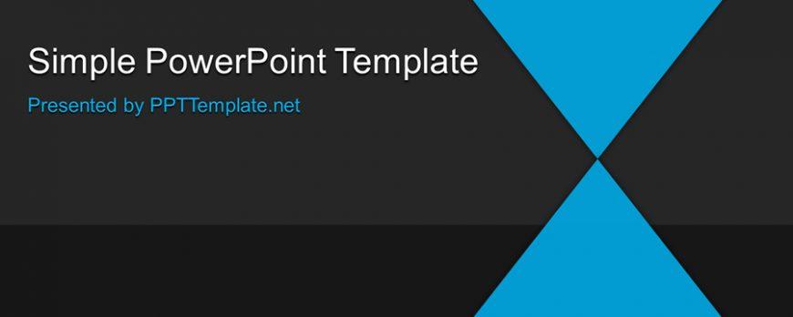 シンプルなビジネス用パワーポイントテンプレート free simple ppt