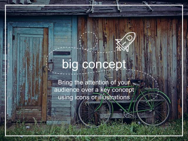 おしゃれな背景写真で魅せるスライドを! 無料パワポテンプレート Miranda presentation template