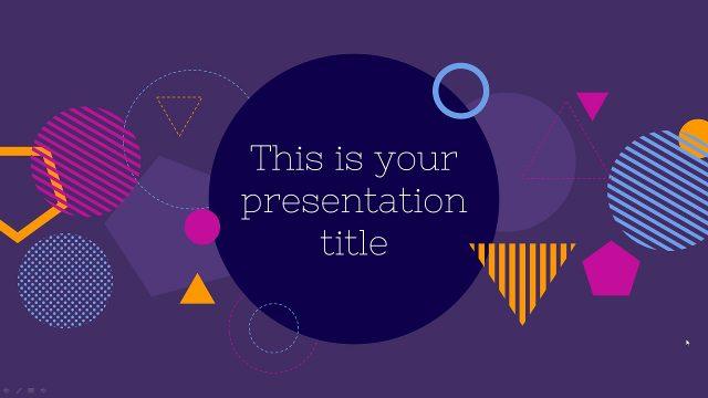 理系ネタ、Techネタに使ってほしいパワーポイントテンプレート Hecate presentation template