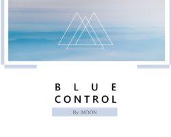 青みがかったグレーで統一された写真が美しく映えるパワーポイントテンプレート